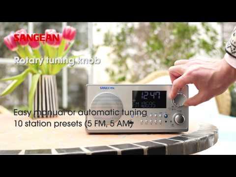 Sangean WR-22 FM-RDS (RBDS) / AM / USB / Bluetooth Digital Receiver