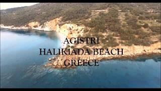 Agistri Island Greece With Drone Aerial View- DJI PHANTOM 3PRO