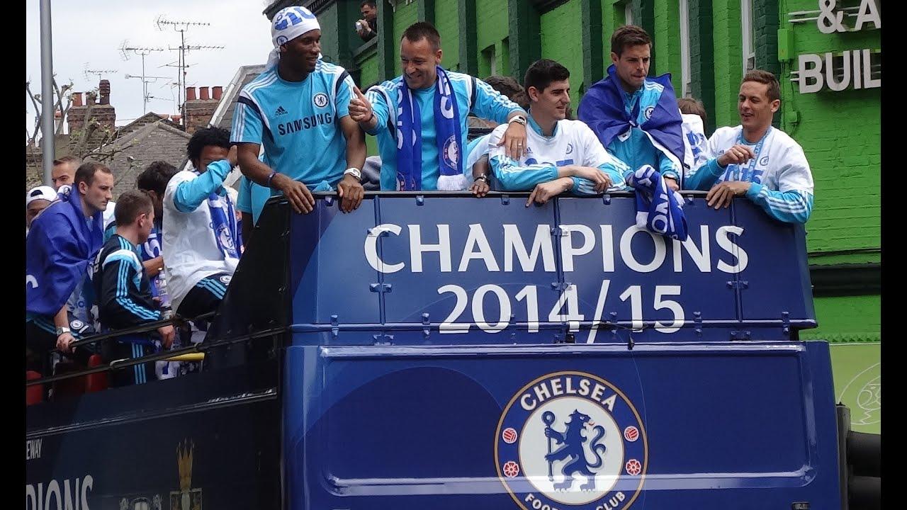 Chelsea Parade Chelsea Fc Champions Victory Parade 25th May 2015 Челси