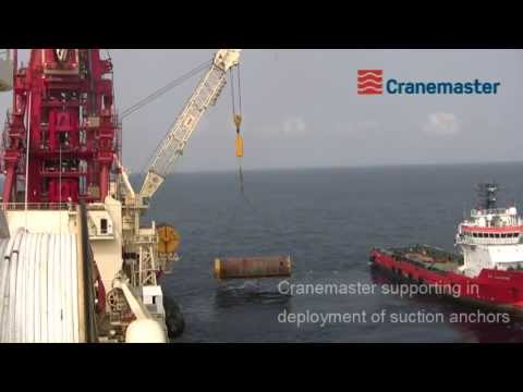 Cranemaster used for subsea lifts