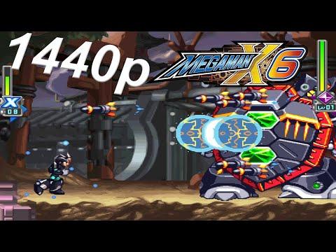 Mega Man X Legacy Collection 2 (X6 Gameplay) 1440p |