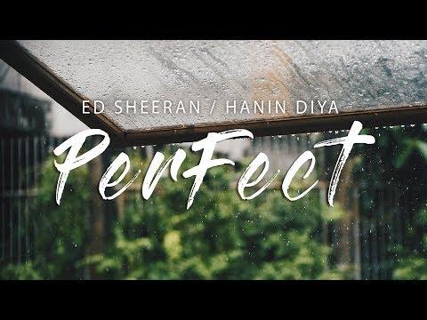 Perfect - Ed Sheeran (Lyrics) Cover by Hanin Dhiya