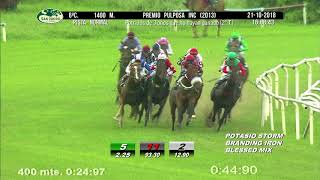 Vidéo de la course PMU PREMIO PULPOSA INC (2O TURNO)
