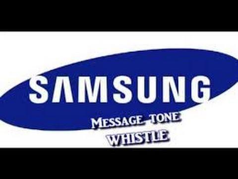 Samsung Whistle Tone BEAT!