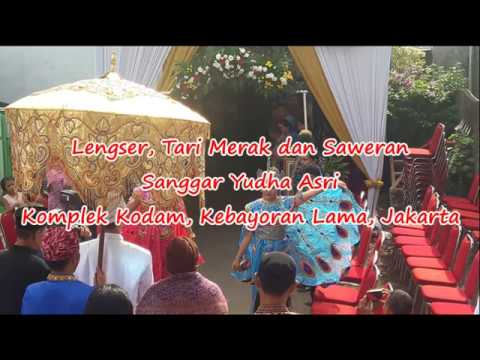 Lengser, Tari Merak, Prosesi Adat Sunda, Saweran-Sanggar Yudha Asri@Kodam Kebayoran Lama