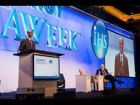 President Kagame speaks at the CERAWeek 2016 Energy Conference | Houston,Texas, 25 February 2016