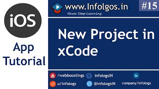 Create A New Project for iOS App in xCode - Tutorial 13