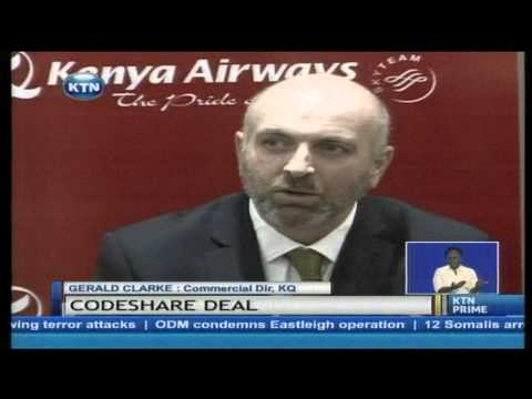 KQ announces a bilateral code share agreement with South Africa's low cost airline kulalu