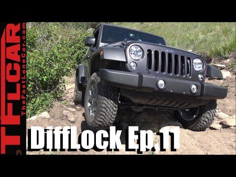 Jeep Wrangler Ghost Towns Wheelin