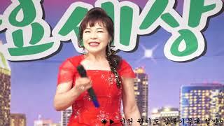 천숙경 가수 ♬사랑여행 김용임曲 인천월미도 갈매기 공연…