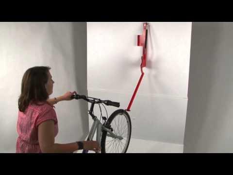 diy tutorial fahrradhalterung selber bauen doovi. Black Bedroom Furniture Sets. Home Design Ideas
