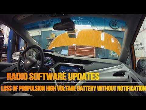 2017 Chevy BOLT EV Customer Satisfaction Campaign Software Update