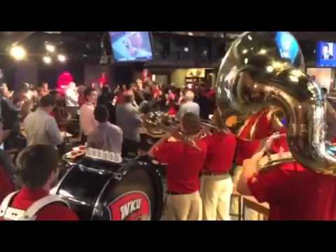 WKU Fight Song at the Chili and Cheese Luncheon 2015