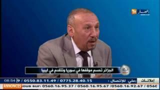 قهوة وجورنان/ ابراهيم بولحية .. الجزائر تحسم موقفها في سوريا وتتقدم في ليبيا