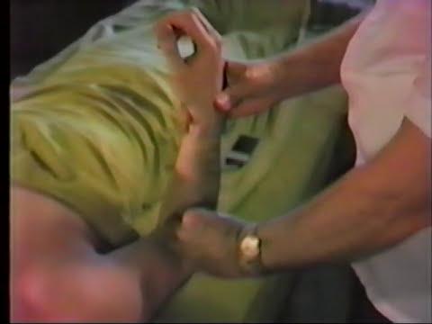 Ray Moser-Demonstration of the Myoneurofibril Massage Technique
