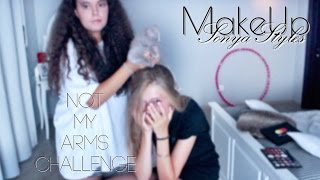 MakeUp x Alina    Not my arms challenge    д е ж а в ю  x Sonya Styles