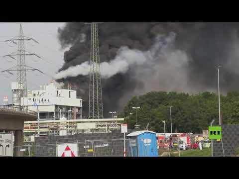 انفجار في مجمع للكيمياويات في مدينة ليفركوزن الألمانية  - نشر قبل 46 دقيقة