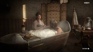 Red Dead Redemption 2 (PS4) - Taking A Deluxe Bath