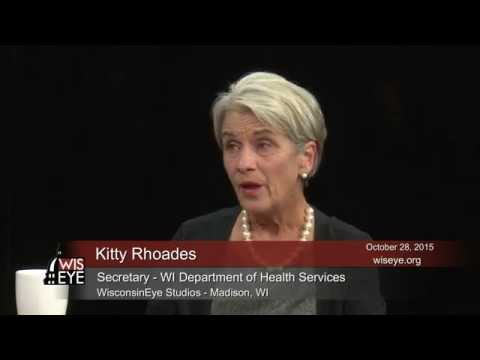 Newsmakers: WI Dept. of Health Services Secretary Kitty Rhoades