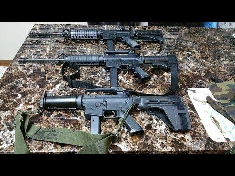 R633 DOE, R635 SMG, LE6450, & AR6951: The Colt 9mm AR15 Series
