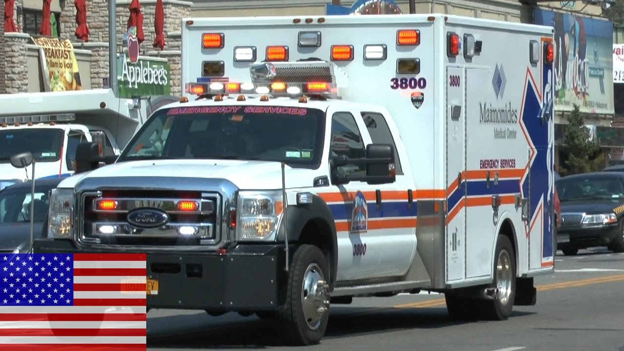 [NEW YORK CITY] EMS 3800 Maimonides Medical Center (Coney Island)