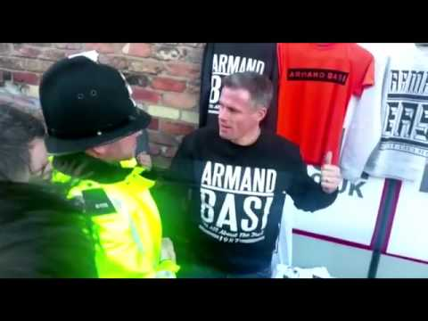 JAMIE CARRAGHER ARRESTED LIVERPOOL