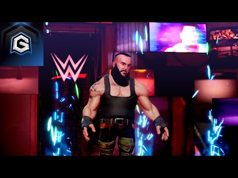 Braun Strowman Comes Face-To-Face With Shinsuke Nakamura | WWE 2K Battlegrounds | GameReBorn |