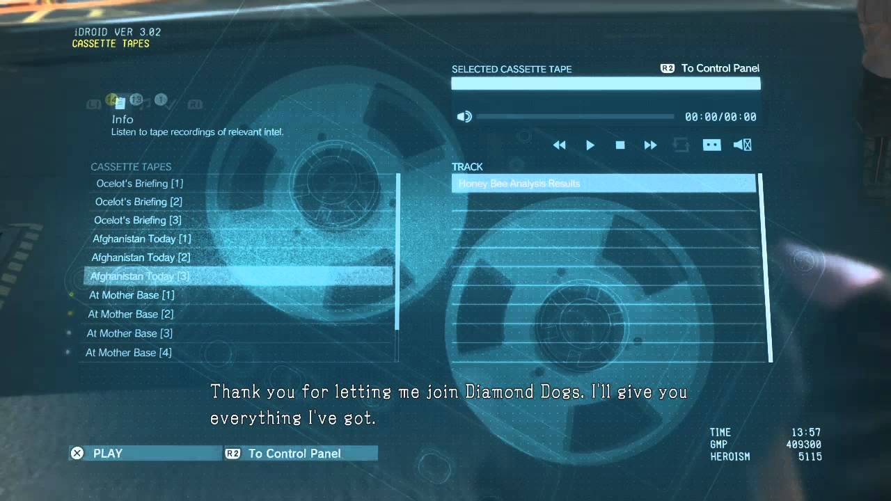 Just me or Ground Zeroes was