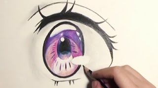 ✿How to draw Anime Eyes