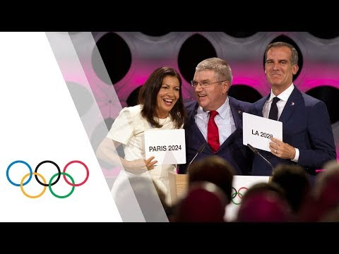 IOC Session – Day 1 - Olympic Games 2024 and 2028,  Press Conferences