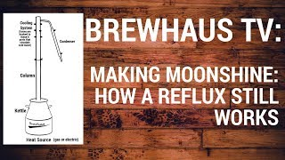 Making Moonshine: How a Reflux Still Works