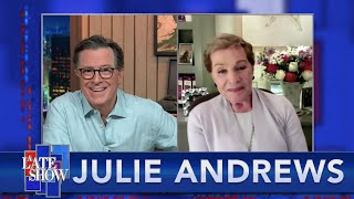 Julie Andrews Shares Grand Tales From The Stage And Screen And Leaves Stephen With