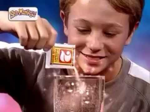 "Sea Monkeys - Scimmie di mare - 15"" TV Spot"