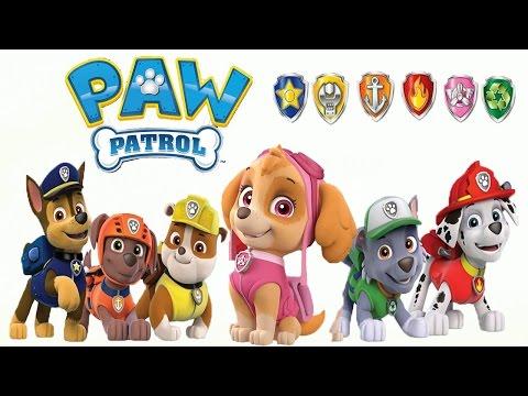 Paw Patrol Nickelodeon Coloring Book щенячий патруль