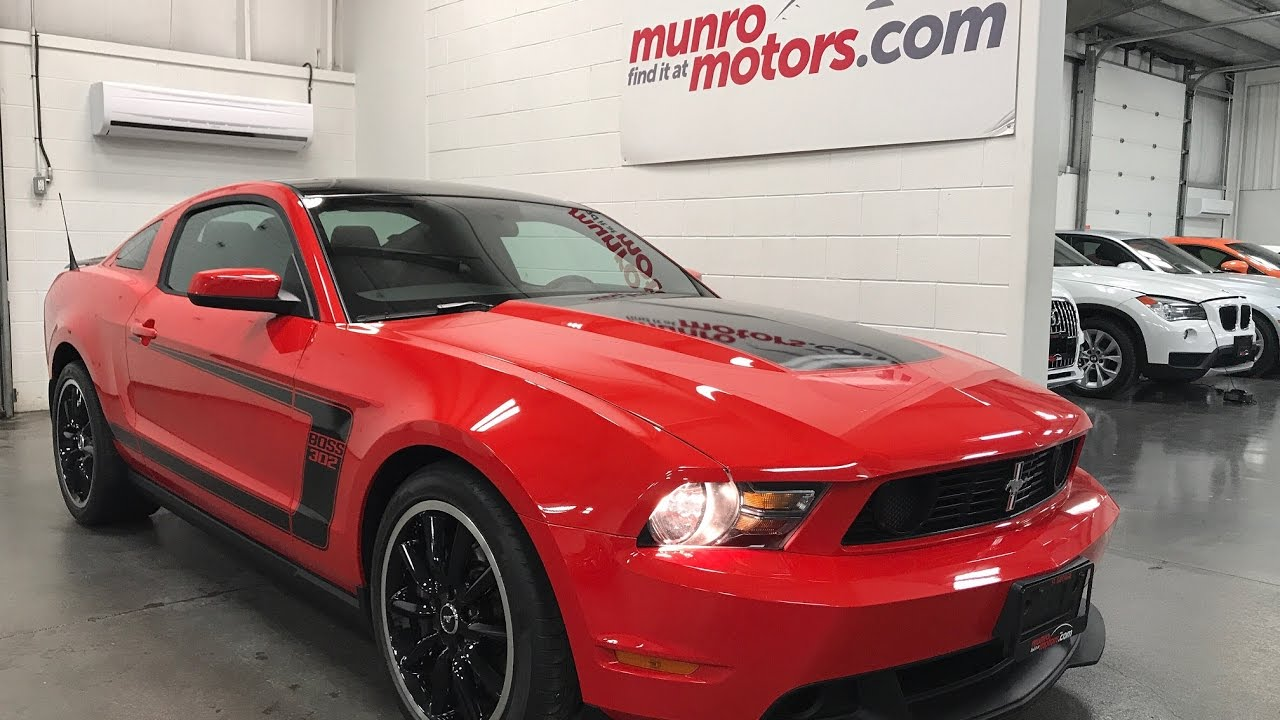 2012 Ford Mustang Boss 302 Sold Sold Sold 29 Kms Recaro