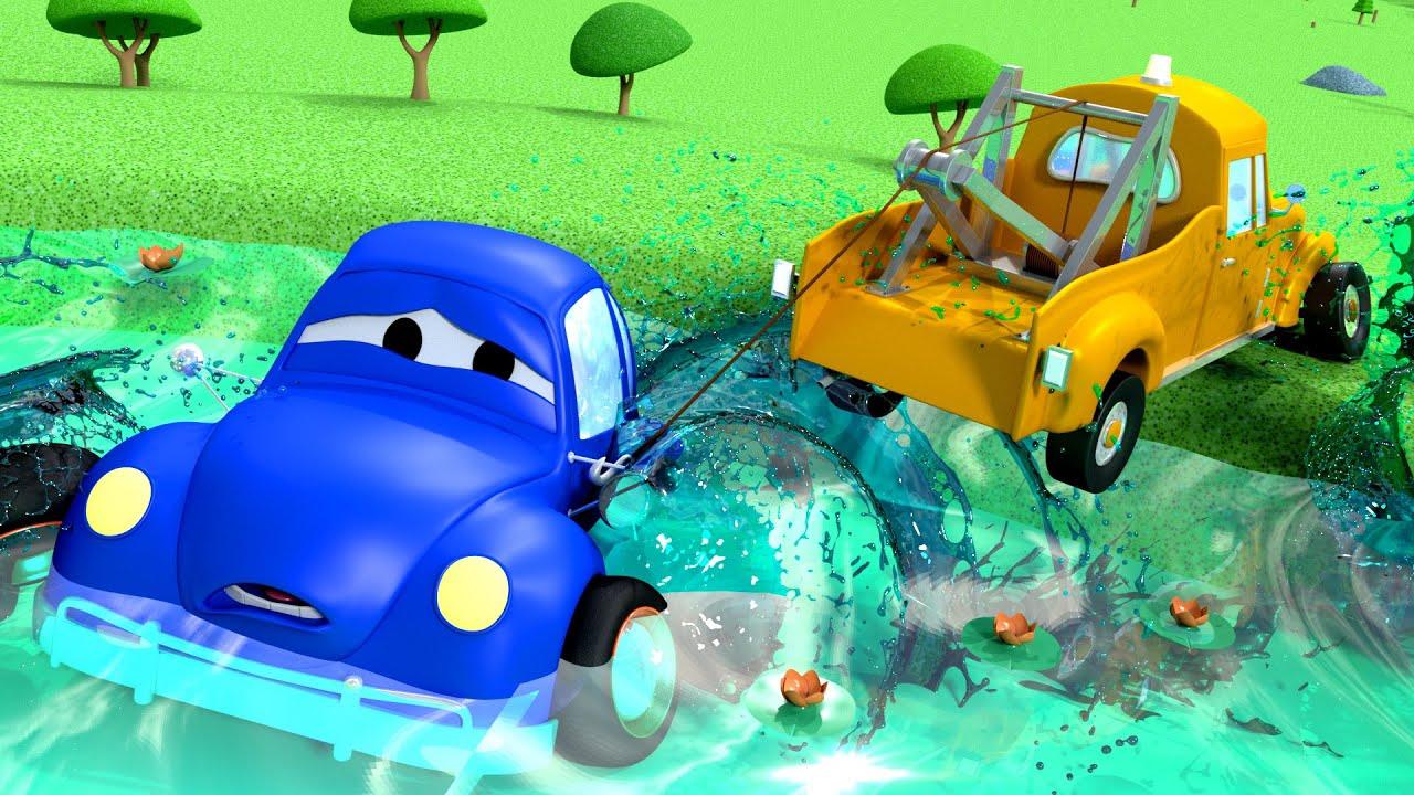 Xe tải kéo Tom -  Cá lớn - Thành phố xe