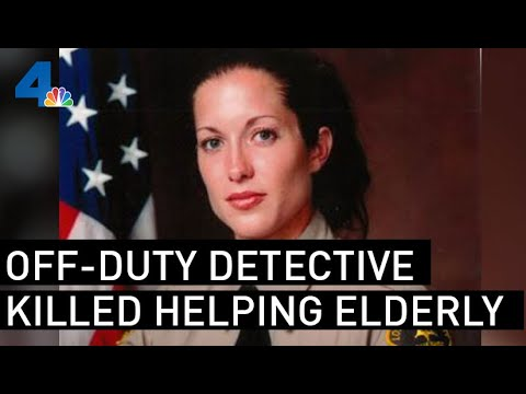 LA County Sheriff's Detective Struck, Killed By Vehicle After She Helped Woman Who Fell | NBCLA