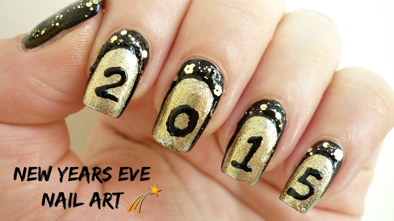 Beaufiful Nail Art New Years Eve Pictures New Years Eve Nail Polish