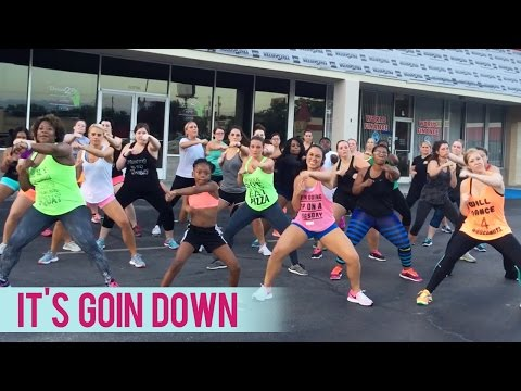 Yung Joc  Its Goin Down ft Nitti Dance Fitness with Jessica Boot Camp
