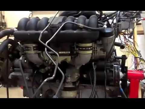 Umbau Mercedes Benz c280 Bootsmotor 2 Teil