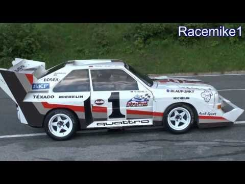 "Audi Sport quattro S1 (E2) ""Pikes Peak"", ex Walter Röhrl, pure engine sound"
