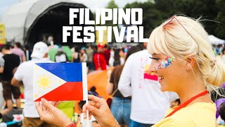 Is this the Philippines?! Foreigners SHOCKED at the Largest Filipino Festival in Europe! | DAY 2