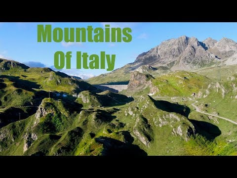 Mountains Of Italy by Drone - Cinematic HD video - Flight from 3800 mt up to 4200 mt / 13000 ft