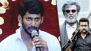 No more FAKE 100 Crores Box Office Collection News : Vishal Speech