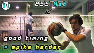 Volleyball Tips: Spike Timing and how to Train it