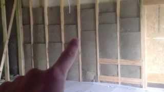 Утепление каркасного дома видео - стены 150 мм утеплителя в 3 слоя(Утепление дома - этап утепление стен. Утепление изнутри минватой деревянные дома http://xn--i1adjheebb.xn--p1ai/ построе..., 2015-05-21T16:44:51.000Z)