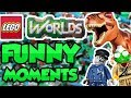 DEATH ARENA - Lego Worlds Funny Moments!