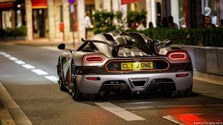 BEST of Supercar Sounds in Monaco and Cannes 2017 !
