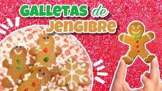 Galletas de jengibre receta || Como hacer galletas de jengibre || Nivel Delicia