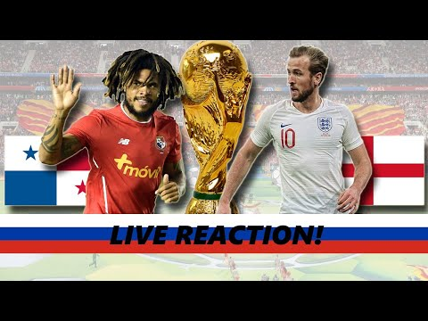 BRING ON BELGIUM! | England VS Panama (6-1) LIVE Reaction